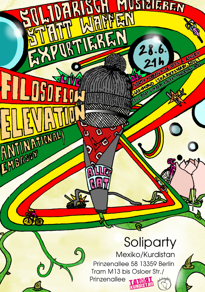 Flyer Alleycat+Soliparty